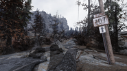 FO76 Location road sign new 6