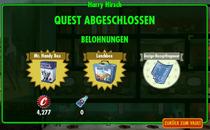 FOS - Quest - Harry Hirsch - Belohnungen