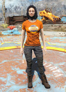 Captain Cosmos t-shirt female