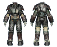 FO4CC X-01 power armor gunner sergeant