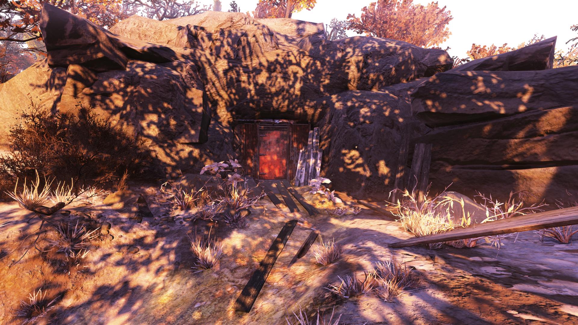 Makeshift vault
