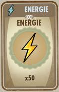 FOS Karte Energie x50