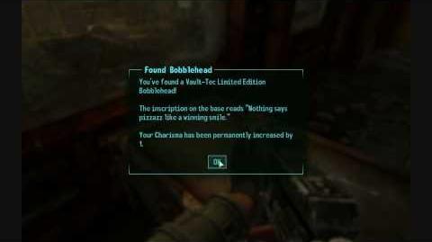 Fallout 3 Bobblehead -Charisma-
