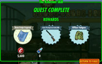 FoS The Reluctant Shill rewards