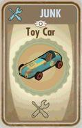 FoS Toy car Card