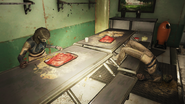 Enclave Corpses in cafeteria