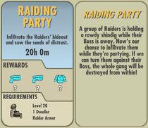 FoS Raiding Party card