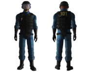 Vault 101 security armor
