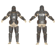 F76 BoS Infantry Armor (Mannequin)