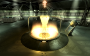 FO3MZ Active teleportation matrix with control panel
