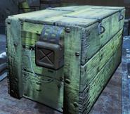 FO4 Деревянный ящик и коробка со взрывчаткой