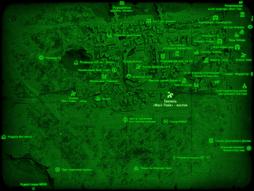 FO4 Тоннель «Масс Пайк» - восток (карта мира).png