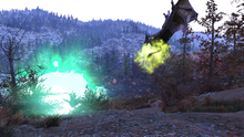 Fallout 76 Scorchbeast sonic attack 2