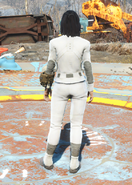 Synth Uniform, Back View (Female)