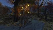 Birdwatcher's treehouse