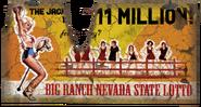 FNV Big Ranch lotto billboard