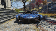 FO76 Flying car front