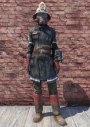 FO76 Responder fireman uniform with hat