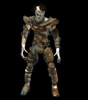 Superior ghoul armor render