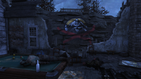 FO76 Pleasant valley cabins cutthroat symbol