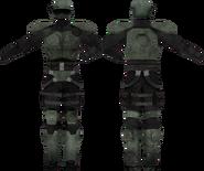 Combat armor reinforced