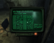 FO3 Terminal Bug