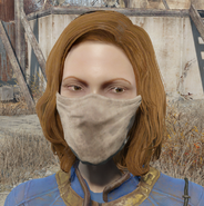 Fo4 surgical mask worn