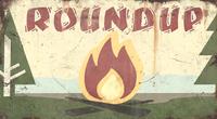 Pioneer Roundup Sign