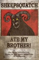 FO76 Sheepsquatch Ate My Brother