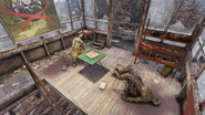 Fo76 Central Mountain Lookout (inside)