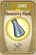 FoS Chemistry flask Card