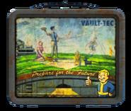 Vault-Tec lunchbox (Fallout 4) Back