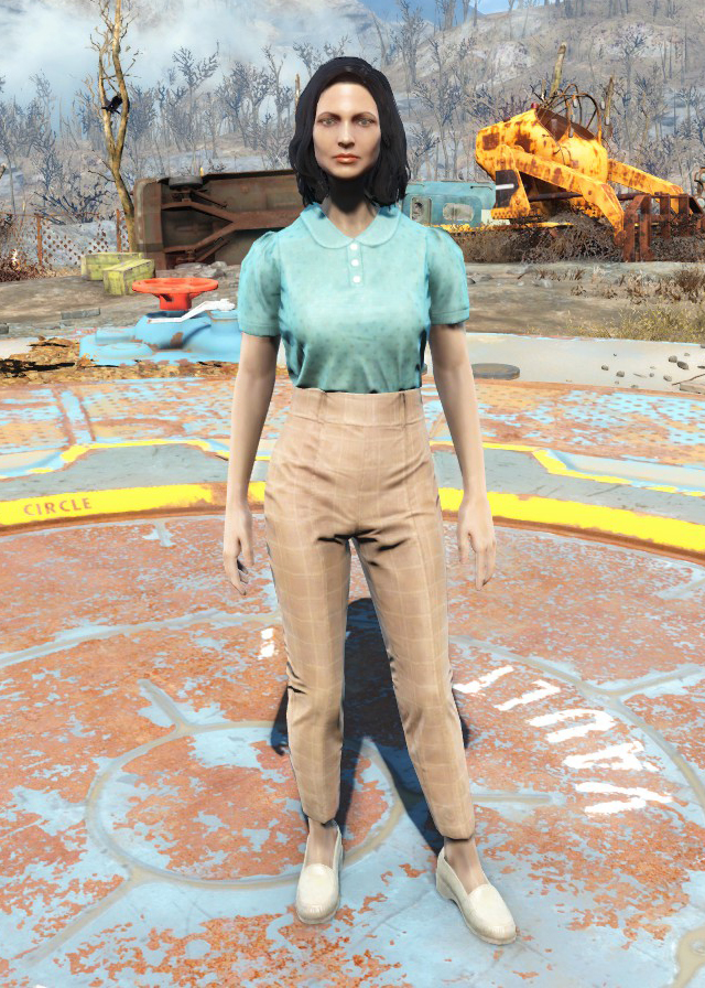 Casual Outfit Fallout 4 Fallout Wiki Fandom