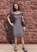 FO76 Sequin Dress Female