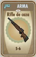 FOS Rifle de caza carta