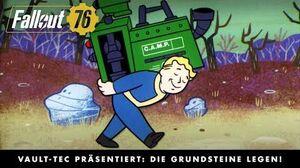 Fallout 76 – Vault-Tec präsentiert Die Grundsteine legen! (Herstellen und Bauen)