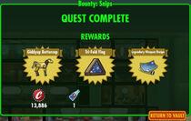 FoS Bounty Snips rewards