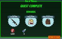 FoS Den of Thieves rewards