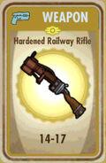 FoS Hardened Railway Rifle Card