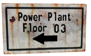 FNV Hoover Dam sign floor 3