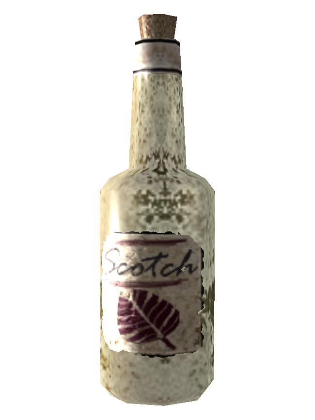 Irradiated scotch