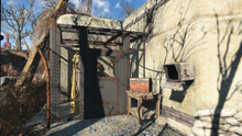 FO4 Power Armor in South Boston Military Checkpoint