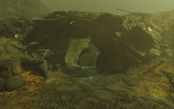 FO4 South Cave entrance (Glowing Sea).png
