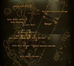 Nellis medical station map