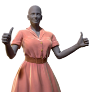 FO76 Atomic Shop - Rose dress