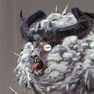 FO76 Chris Ortega concept (The SheepSquatch Monster) (2)