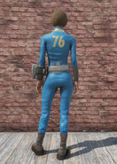 FO76 Vault 76 Jumpsuit Back
