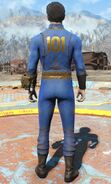 Fo4 vault 101 jumpsuit male