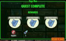 FoS Caps Run - rewards