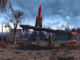 Relais routier Red Rocket